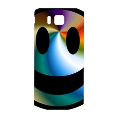 Simple Smiley In Color Samsung Galaxy Alpha Hardshell Back Case