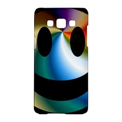 Simple Smiley In Color Samsung Galaxy A5 Hardshell Case