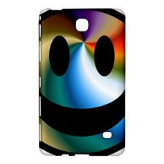 Simple Smiley In Color Samsung Galaxy Tab 4 (7 ) Hardshell Case