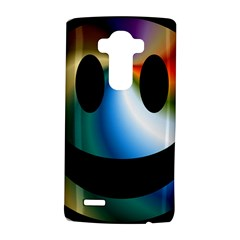 Simple Smiley In Color LG G4 Hardshell Case