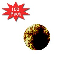 A Fractal Image 1  Mini Buttons (100 pack)