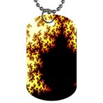 A Fractal Image Dog Tag (One Side) Front