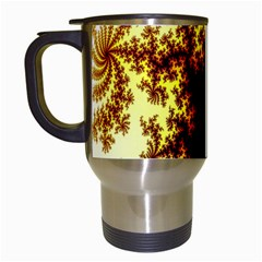A Fractal Image Travel Mugs (White)