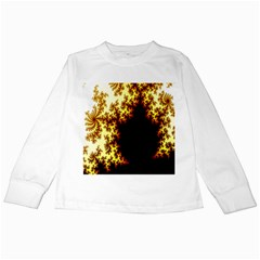 A Fractal Image Kids Long Sleeve T Shirts