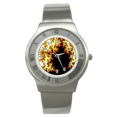 A Fractal Image Stainless Steel Watch