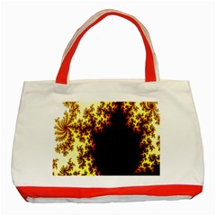 A Fractal Image Classic Tote Bag (Red)