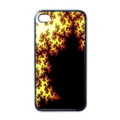 A Fractal Image Apple Iphone 4 Case (black)