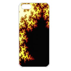 A Fractal Image Apple iPhone 5 Seamless Case (White)