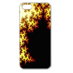 A Fractal Image Apple Seamless Iphone 5 Case (clear)