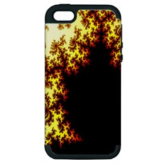 A Fractal Image Apple iPhone 5 Hardshell Case (PC+Silicone)