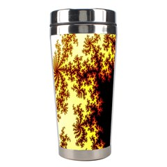 A Fractal Image Stainless Steel Travel Tumblers