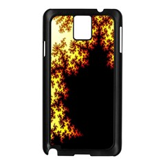 A Fractal Image Samsung Galaxy Note 3 N9005 Case (black)