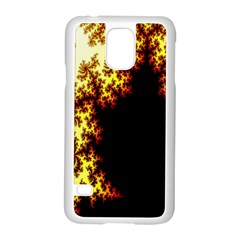 A Fractal Image Samsung Galaxy S5 Case (White)