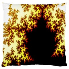 A Fractal Image Standard Flano Cushion Case (One Side)