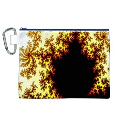 A Fractal Image Canvas Cosmetic Bag (xl)