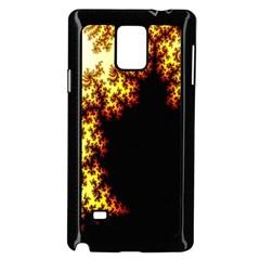 A Fractal Image Samsung Galaxy Note 4 Case (Black)