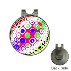 Color Ball Sphere With Color Dots Hat Clips With Golf Markers