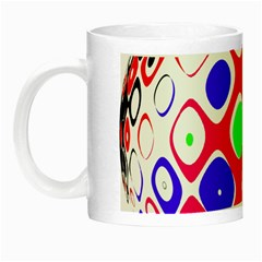 Color Ball Sphere With Color Dots Night Luminous Mugs