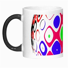 Color Ball Sphere With Color Dots Morph Mugs