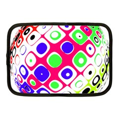 Color Ball Sphere With Color Dots Netbook Case (medium)