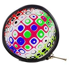 Color Ball Sphere With Color Dots Mini Makeup Bags