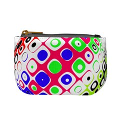 Color Ball Sphere With Color Dots Mini Coin Purses