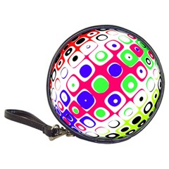 Color Ball Sphere With Color Dots Classic 20 Cd Wallets