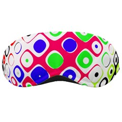 Color Ball Sphere With Color Dots Sleeping Masks