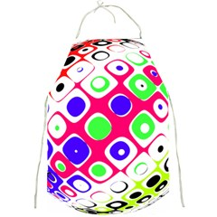 Color Ball Sphere With Color Dots Full Print Aprons
