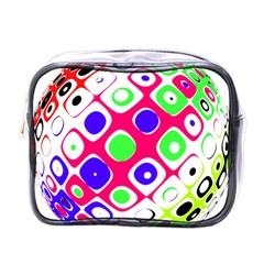Color Ball Sphere With Color Dots Mini Toiletries Bags