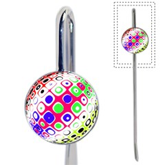Color Ball Sphere With Color Dots Book Mark