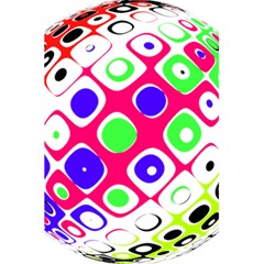 Color Ball Sphere With Color Dots 5 5  X 8 5  Notebooks