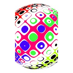 Color Ball Sphere With Color Dots Shower Curtain 48  x 72  (Small)
