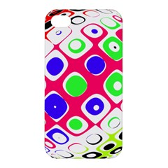 Color Ball Sphere With Color Dots Apple Iphone 4/4s Hardshell Case