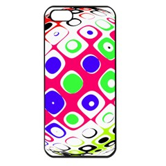 Color Ball Sphere With Color Dots Apple Iphone 5 Seamless Case (black)
