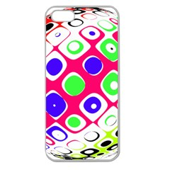 Color Ball Sphere With Color Dots Apple Seamless iPhone 5 Case (Clear)