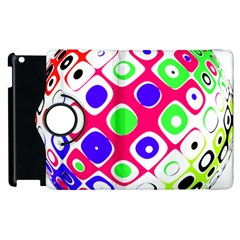 Color Ball Sphere With Color Dots Apple Ipad 2 Flip 360 Case