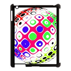 Color Ball Sphere With Color Dots Apple Ipad 3/4 Case (black)