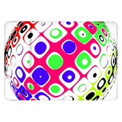 Color Ball Sphere With Color Dots Samsung Galaxy Tab 8.9  P7300 Flip Case