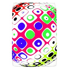 Color Ball Sphere With Color Dots Flap Covers (s)