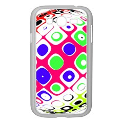 Color Ball Sphere With Color Dots Samsung Galaxy Grand Duos I9082 Case (white)