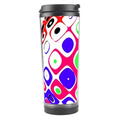Color Ball Sphere With Color Dots Travel Tumbler