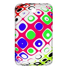 Color Ball Sphere With Color Dots Samsung Galaxy Tab 3 (7 ) P3200 Hardshell Case