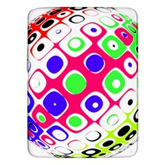 Color Ball Sphere With Color Dots Samsung Galaxy Tab 3 (10 1 ) P5200 Hardshell Case