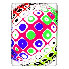 Color Ball Sphere With Color Dots Ipad Air Hardshell Cases