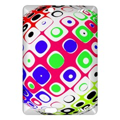 Color Ball Sphere With Color Dots Amazon Kindle Fire HD (2013) Hardshell Case