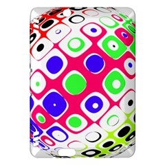 Color Ball Sphere With Color Dots Kindle Fire Hdx Hardshell Case