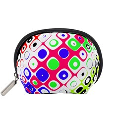 Color Ball Sphere With Color Dots Accessory Pouches (small)