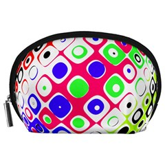 Color Ball Sphere With Color Dots Accessory Pouches (Large)