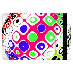 Color Ball Sphere With Color Dots Ipad Air 2 Flip